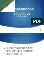 3 Valutazione soggettiva VDA
