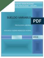 Sueldo Variable - Psic. Laboral