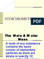 The Mole & Molar Mass