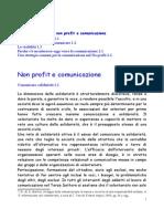 Capitolo 3, Non Profit e Comunicazione