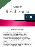 Clase 9 Resiliencia