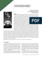 Patente como instrumento competitivo e como fonte de informação tecnológica
