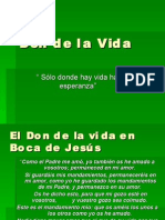 Don de la Vida ( Valor mes de Septiembre)