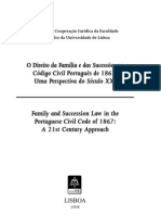 O Direito da Família e das Sucessões