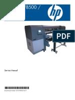 HP Scitex FB500, FB700 (Service Manual)