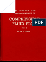 Shapiro - The Dynamics and Thermodynamics of Compressible Fluid Flow Volume 1