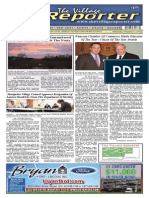 The Village Reporter - December 11th, 2013