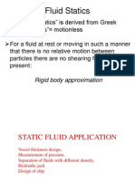 2013 Lect1 Application of Fluid Static