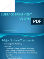 Surface Treatment-An Overview
