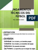 Fundamentos Tecnicos Del Futboltecnica