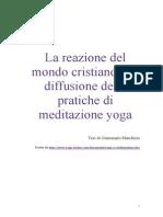 Marchisio G. Yoga e Cristianesimo