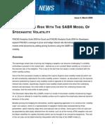 SABR Interest Rate Derivative