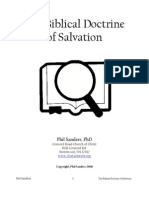 The Biblical Doctrine of Salvation