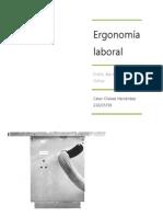 Análisis ergonómico laboral dentro de un taller