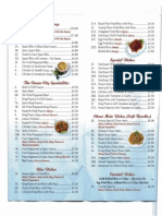 Padstow Ocean City Chinese Menu