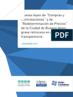 """Nuevas leyes de """"Compras y Contrataciones"""" y de """"Redeterminación de Precios"""" de la Ciudad de Buenos Aires"""