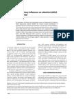 BASE SINN, 2008 Nutritional and Dietary Influences on TDAH
