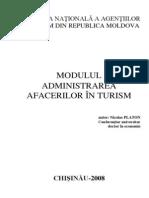 Administrare Afacerilor in Turism