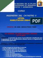 Habilitacion Urbana Ing Del Catastro