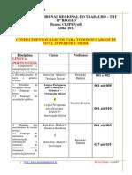 84 Mapa Da Mina- Tribunal Regional Do Trabalho - Trt - 10 Regiao
