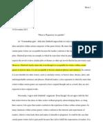 Argumentative Essay-Rough Draft