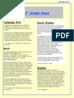 dec newsletter 2013