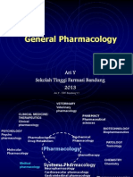 General Pharmacology - Distribution