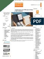 Guia Del Usuario Para Crear PDF Para Sony Reader