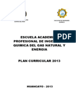 Plan Curricular-2013-EAP IQ-Gas Natural y Energia