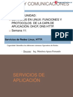 Sesion11 Servicios de Redes Linux, HTTP.