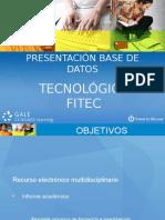 PRESENTACIÓN TECNOLÓGICA FITEC