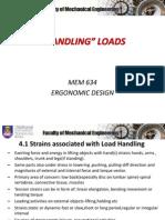 4.0 Handling Loads