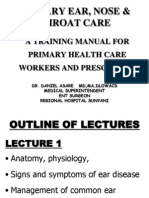 ENT Lectures 1