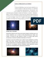 Origen de La Tierra Segun Las 2 Teorias