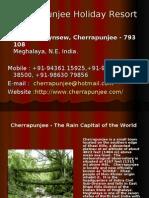 Cherrapunji Holiday Resort - Cherrapunjee Holiday resort