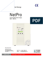 Netpro Operation Manual 2k0 4k0 Va