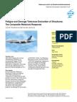 Fatigue & Damage Tolerance Composite Material Evaluation of structures