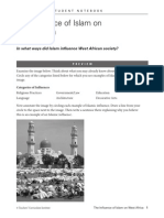africas muslim influence student notebook