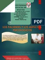 Los Pacientes y Los Aspectos Psicologicos