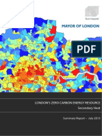 LONDON'S ZERO CARBON ENERGY RESOURCE- Secondary Heat Summary Report 2013