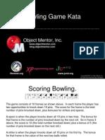 Bowling Game Kata