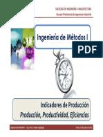 M2.1 IM I - USMP - Indicadores de Produccin - Produccin, Productividad, Eficiencias