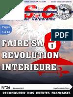 ASC N°26 - Faire sa révolution intérieure