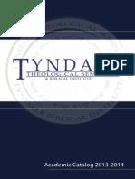 Tyndale 2013-2014 #Catalog