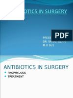 Antibiotics in Surgery 2003