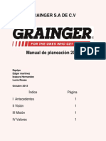 Manual de Planeacion Grainger
