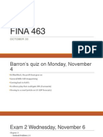 Barron's, Exam Oct 30