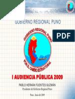5.- Region de Puno