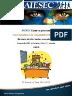 AIESEC résumé formule comptabilité financière IFRS