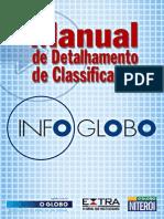 Manual de Detalhamento de Classificados